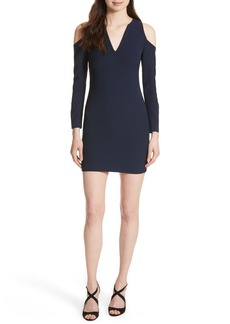 Alice + Olivia Niko Cold Shoulder Dress