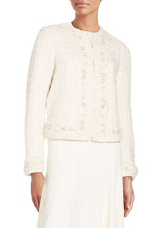 Alice + Olivia Nila Embellished Jacket