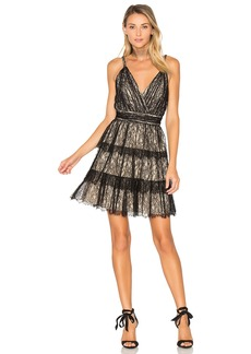 Alice + Olivia Olive Lace Dress