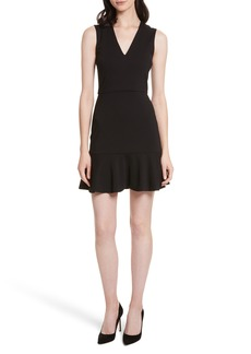 Alice + Olivia Onella V-Neck Dress