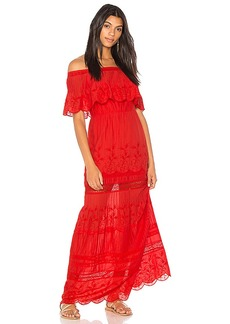 Alice + Olivia Pansy Dress in Red. - size 2 (also in 4,6)