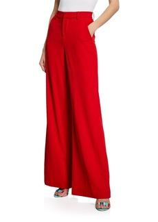 Alice + Olivia Paulette Slim High-Waist Pants
