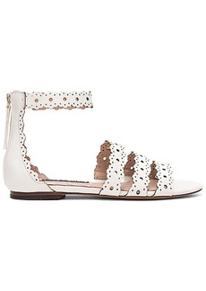Alice + Olivia Penny Sandal in Ivory. - size 38.5 (also in 40,41)