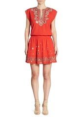 Alice + Olivia Pimmy Cotton Dress