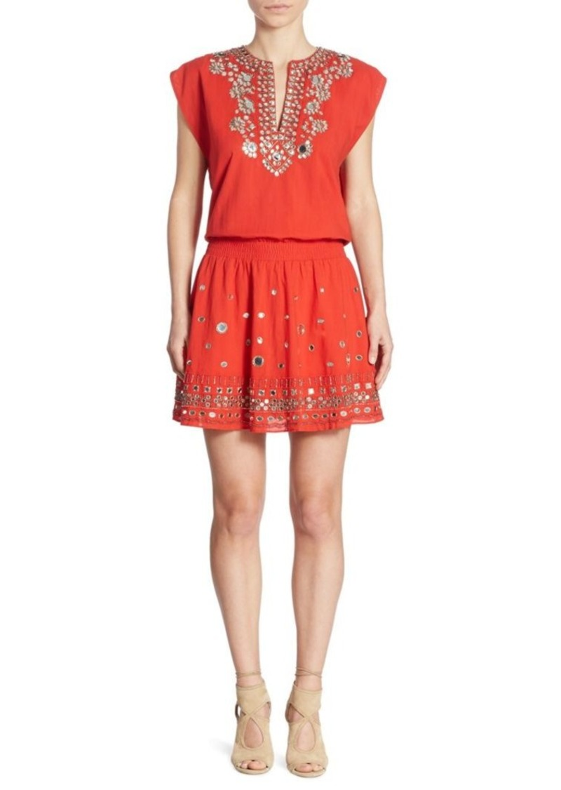 Alice + Olivia Pimmy Cotton Dress