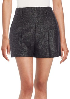 Alice + Olivia Pleat-Front Shorts