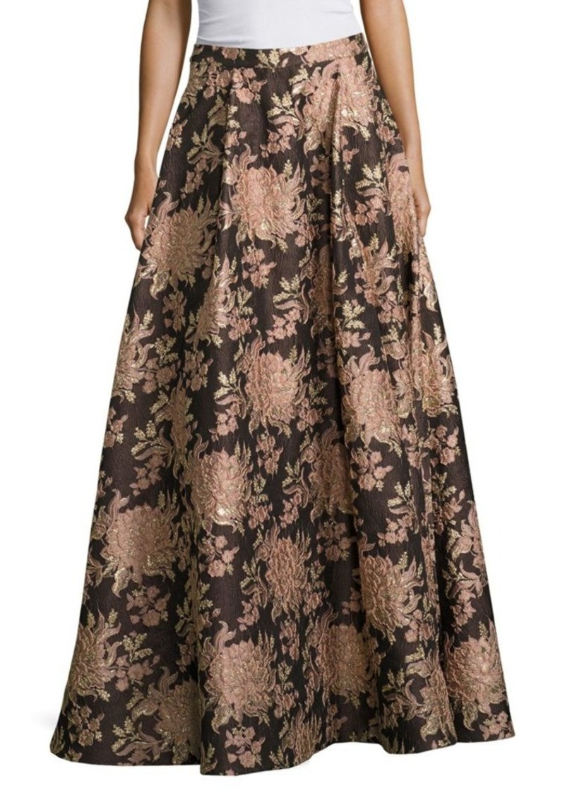 Alice + Olivia Rachelle Floral Ball Gown Skirt
