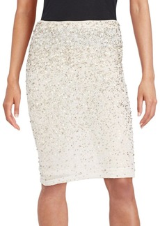 Alice + Olivia Ramos Embellished Skirt
