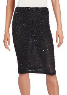 Alice + Olivia Ramos Embellished Skirt