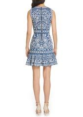 Alice + Olivia Rapunzel Embroidered Dress