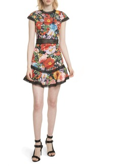 Alice + Olivia Rapunzel Fit & Flare Dress