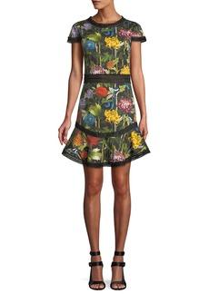 Alice + Olivia Rapunzel Floral Dress
