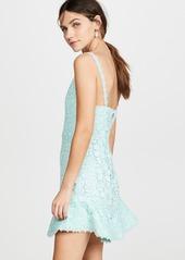 alice + olivia Rapunzel Plunging V Nk Dress