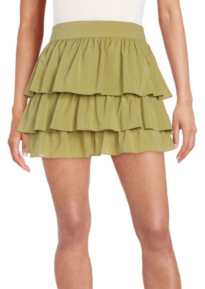 Alice + Olivia Reina Tiered Skirt