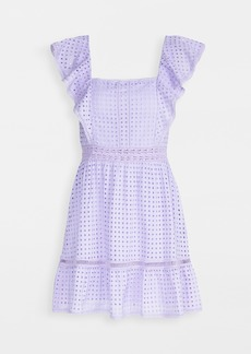 alice + olivia Remada Ruffle Dress