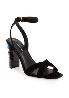 Alice + Olivia Renia Crystal Heel Sandal (Women)