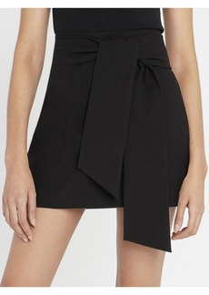 alice + olivia RIVA MINI SKIRT WITH TIE