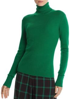 Alice + Olivia Roberta Rib-Knit Wool Turtleneck Sweater