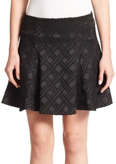 Alice + Olivia Rochelle Flared Skirt