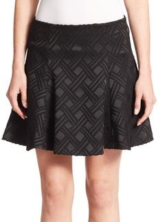 Alice + Olivia Rochelle Flared Skirt