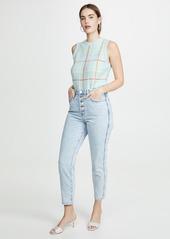 alice + olivia Rosalina Sleeveless Shell Sweater