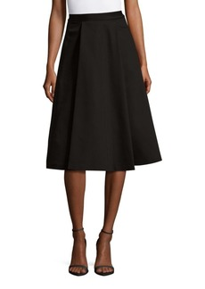 Alice + Olivia Rosalinda Box Pleat Skirt