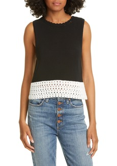 Alice + Olivia Rosaline Sleeveless Sweater