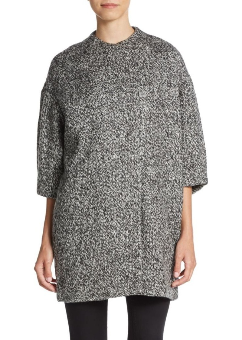 Alice + Olivia Roy Bracelet-Length Sleeve Coat
