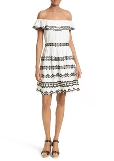 Alice + Olivia Rozzi Off the Shoulder Dress