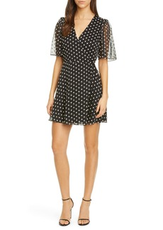 Alice + Olivia Sandra Angel Floral Wrap Dress