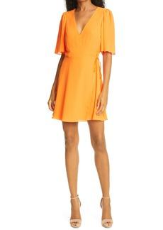 Alice + Olivia Sandra Wrap Dress
