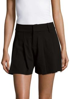 Alice + Olivia Scarlet Pleat Shorts