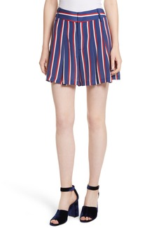 Alice + Olivia Scarlet Super High Waist Flutter Shorts