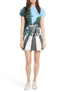 Alice + Olivia AO x The Beatles Sequined Shift Dress