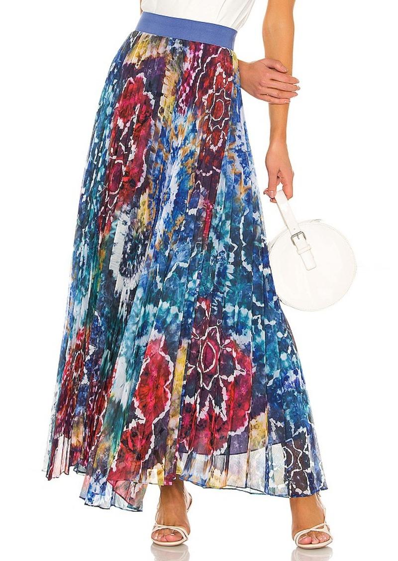 Alice + Olivia Shannon Pleat Skirt