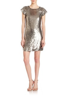 Alice + Olivia Sherry Sequined Dress