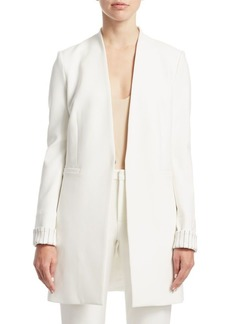 Alice + Olivia Simpson Roll Cuff Jacket