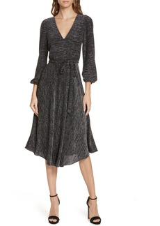 Alice + Olivia Sparkle Midi Dress