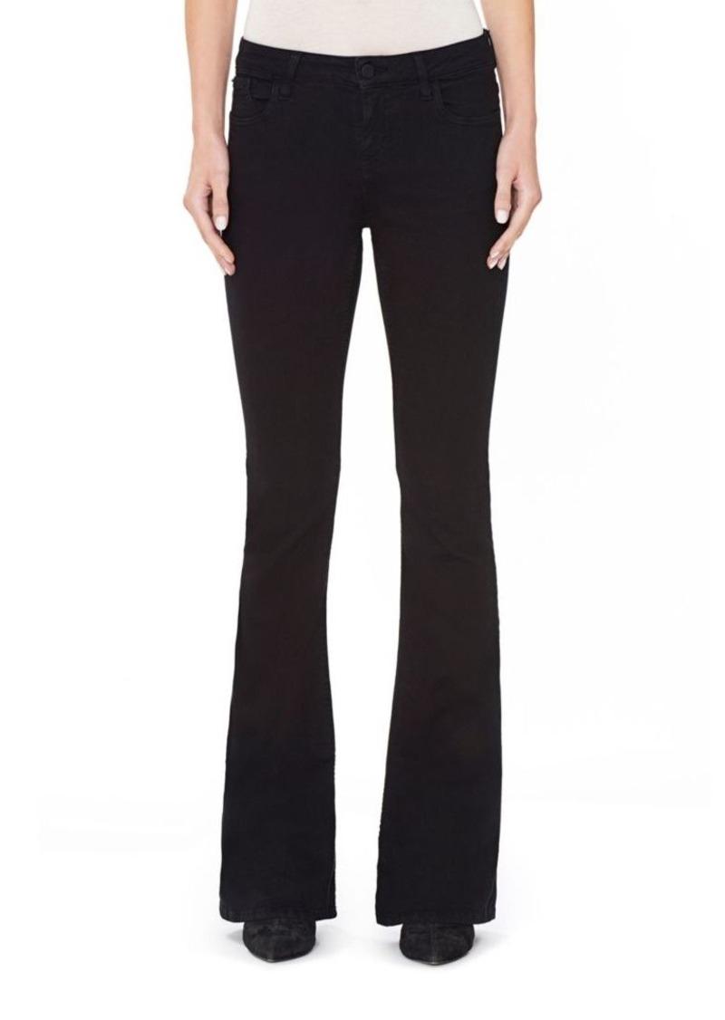 Alice + Olivia Stacey Bell Five-Pocket Jeans