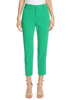 Alice + Olivia Stacey Slim Crop Trousers