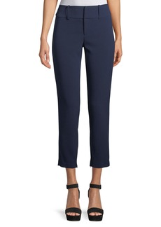 Alice + Olivia Stacey Slim Straight-Leg Ankle Pant