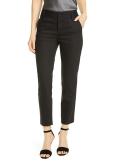 Alice + Olivia Stacey Slim Stretch Cotton Blend Trousers