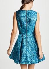 alice + olivia Stasia Deep Pleat Party Dress