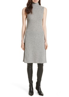 Alice + Olivia Stori Double Slit Sweater Dress