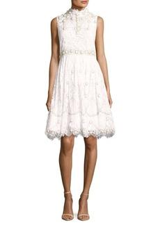 Alice + Olivia Studded Sleeveless Dress
