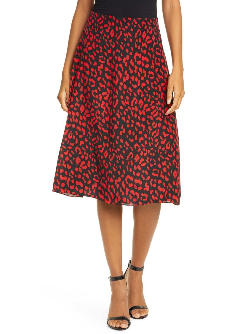 Alice + Olivia Sula A-Line Midi Skirt