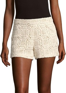 Alice + Olivia Susi High-Waist Shorts