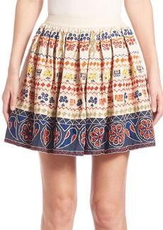 Tania Embroidered Skirt