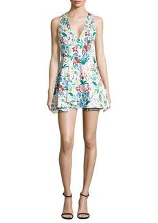 Tanner Asymmetrical Fit-&-Flare Dress