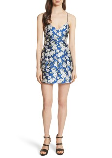 Alice + Olivia Tayla Structured Lantern Mini Dress